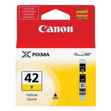 Festékpatron CANON CLI-42Y sárga