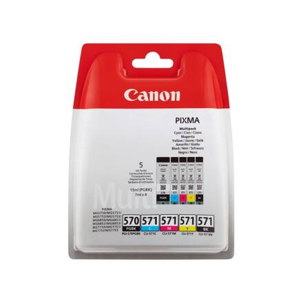 Festékpatron CANON CLI-571 Multipack