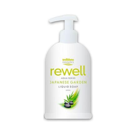 Folyékony szappan pumpás WELL DONE REWELL Japanese Garden 400 ml