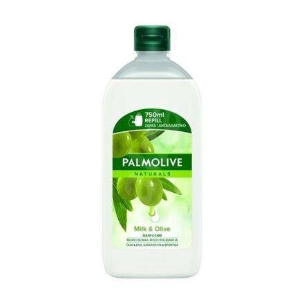 Folyékony szappan utántöltő PALMOLIVE Naturals olíva és tej 750 ml