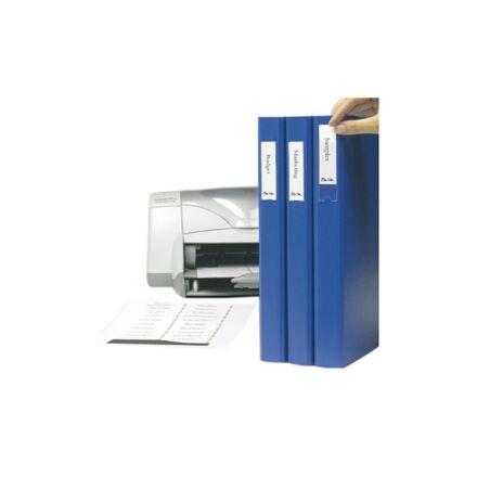 Gerinc címke+öntapadó tok 3L 25x75mm 48 db/csomag