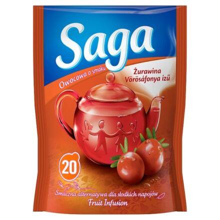 Gyümölcs tea SAGA Vörösáfonya 20 filter