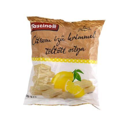 Töltött ostya citrom ízű 180g