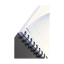 Kép 10/11 - Spirálfüzet LEITZ Office A/5 karton borítóval 90 lapos vonalas zöld